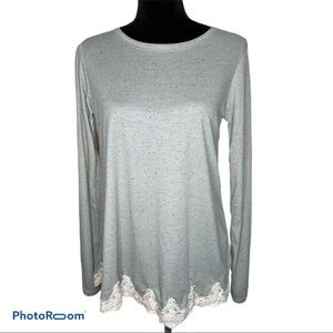 Rue21 lace trimmed top M